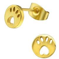EYS JEWELRY Damen Ohrringe Hunde Pfoten 316L Edelstahl...