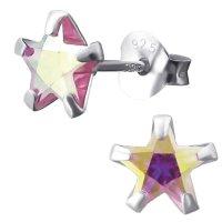 EYS JEWELRY Damen Ohrringe Sterne 925 Sterling Silber...