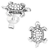 EYS JEWELRY Damen Ohrringe Schildkröten 925 Sterling...