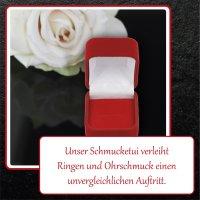 EYS JEWELRY Schmuck-Etui für Ring 50 x 35 x 45 mm...