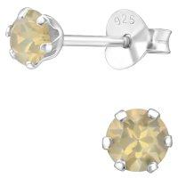 EYS JEWELRY  rund 925 Sterling Silber Glitzer Kristalle...