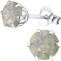 EYS JEWELRY Ohrstecker Damen rund 925 Sterling Silber...